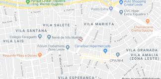 Rua Professora Irene Favret Lopes