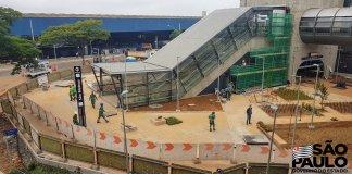 Área externa Estação São Mateus
