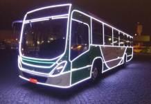 Ônibus Natalinos em Campinas
