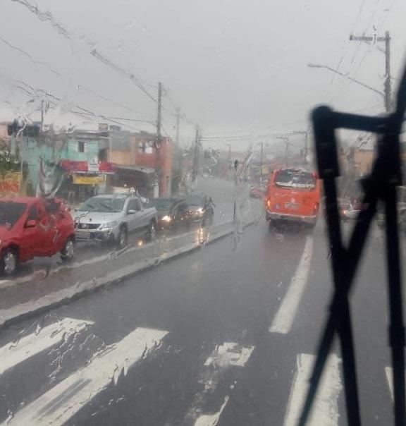 Alagamento Estrada do Campo Limpo Chuva em São Paulo