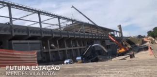 Estação Mendes-Vila Natal Vídeo