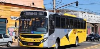 Tarifa de ônibus em Americana Interior