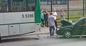 Colisão na Avenida Professor Luiz Ignácio de Anhaia Mello