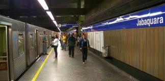 Estação Jabaquara Linha 1-Azul