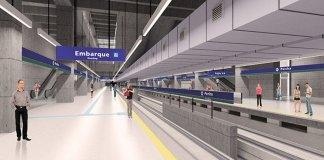 Estação Penha da Linha 2-Verde
