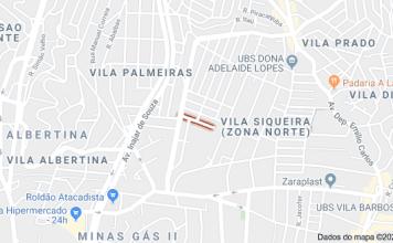 Rua Santo Ubaldo Vila Palmeiras