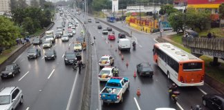 Acidente na rodovia Raposo Tavares