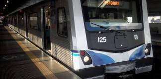 Trem Linha 1-Azul
