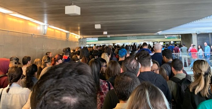 Estação Tamanduateí Lotação Linha 2-Verde