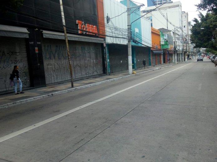 Quarentena O que abre e fecha Rua Teodoro Sampaio Comércio