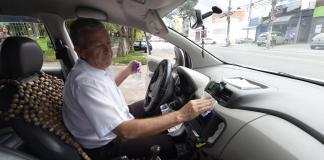 Coronavírus Táxi em Guarulhos