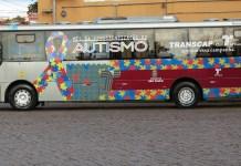 Abril Azul Ônibus Autismo