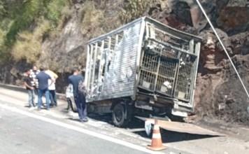 Rodovia Anhanguera Acidente em Cajamar