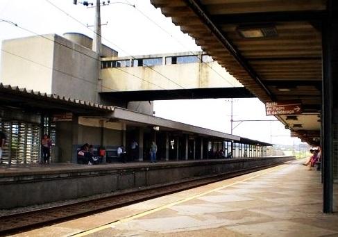 Estação Capuava em Mauá Linha 10-Turquesa