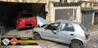 Rua Joaquim Ribeiro Acidente