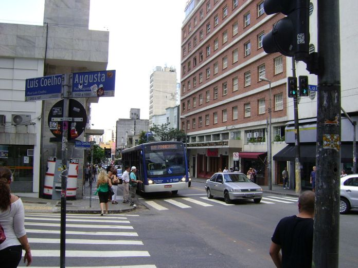 Zona Azul Rua Augusta Rua Luís Coelho