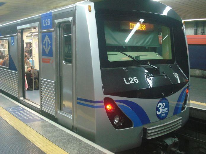 Frota L Metrô Linha 3-Vermelha