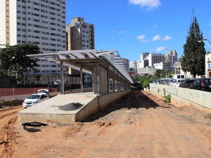 Obras do BRT Campinas Campo Grande
