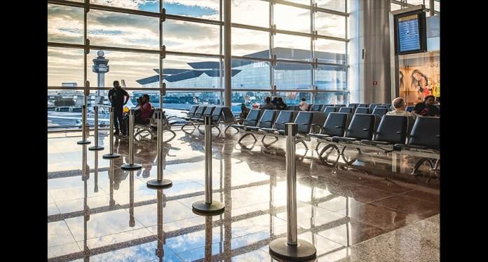 Sala de embarque GRU Aeroporto de Guarulhos