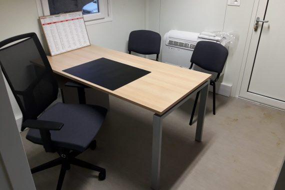 Installation de bureaux dans une carrière du Perche (Orne 61)