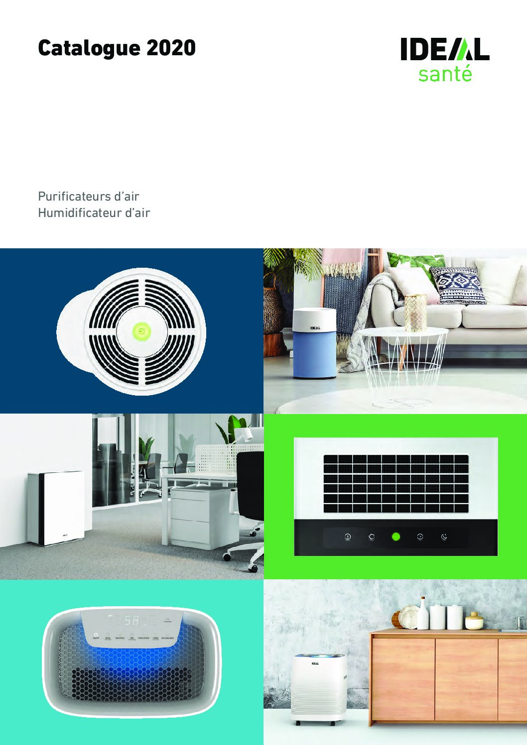 Purificateurs d'air IDEAL SANTÉ Catalogue 2020 – Mobilier de Bureau Alençon
