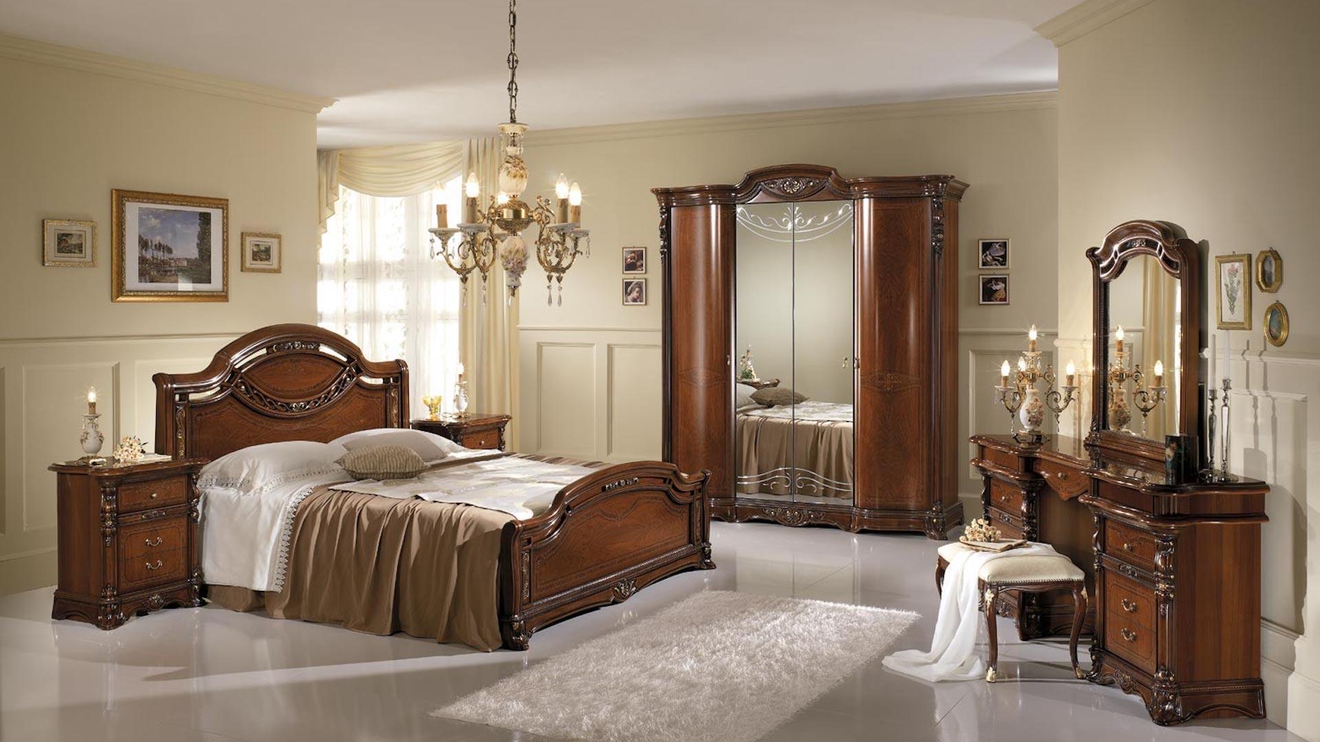 Arredamento della camera da letto: Le Camere Da Letto Classiche Di Mobili Gentiluomo