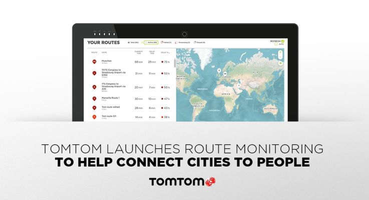 TomTom Route Monitoring per connettere le smart cities