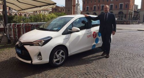 Yuko, il car sharing Toyota arriva a Venezia
