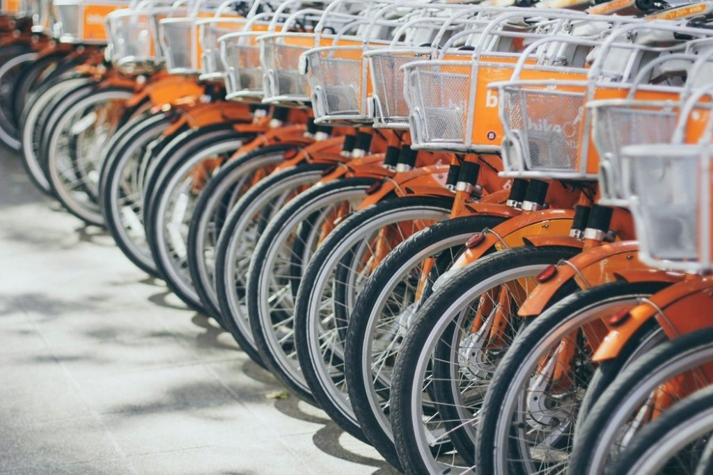 mappa bike sharing