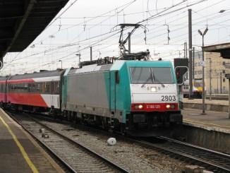TRAXX Brussel Zuid 2009 1