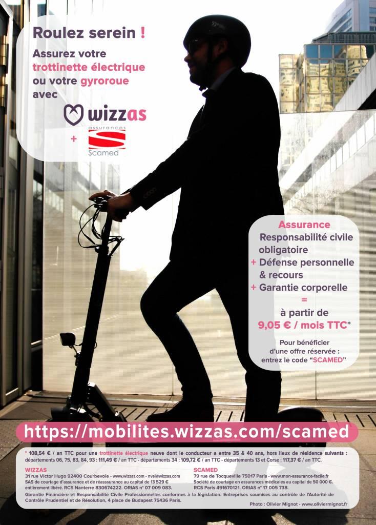 Offre Le Médecin de France par Wizzas et Scamed