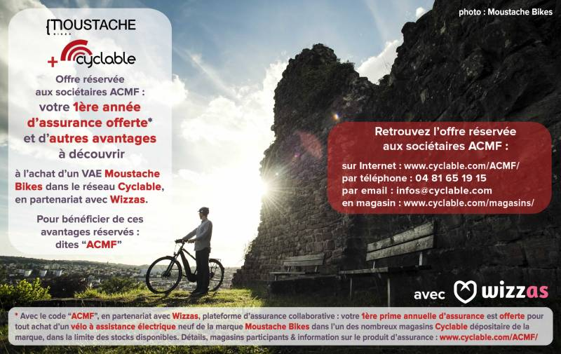 ACMF Moustache Bikes Cyclable