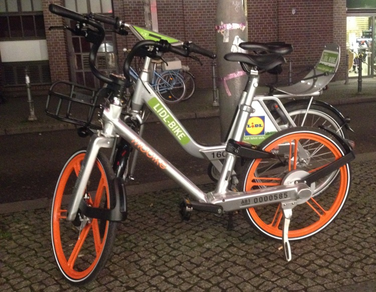 Mobike and Call-a-Bike (Lidle Bike)