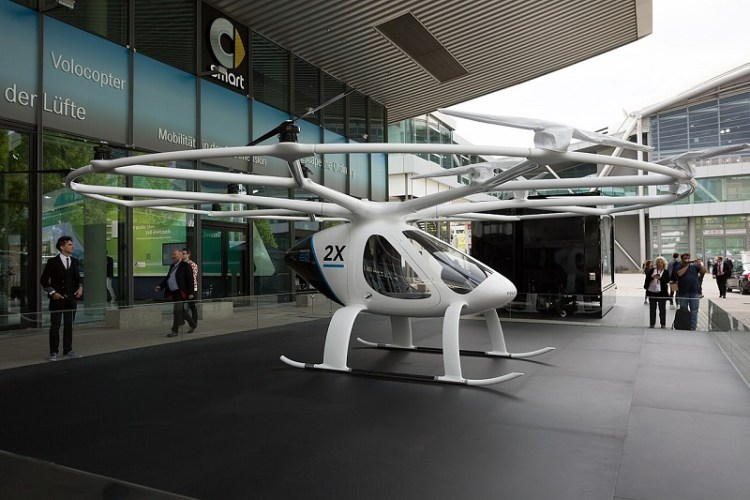 Volocopter taxi drone