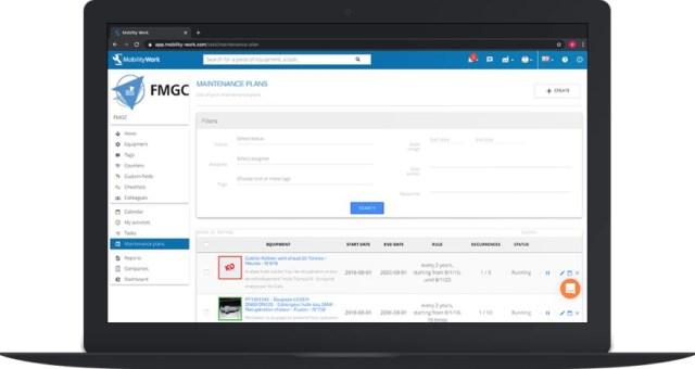 mobile cmms software maintenance management system maintenance plan