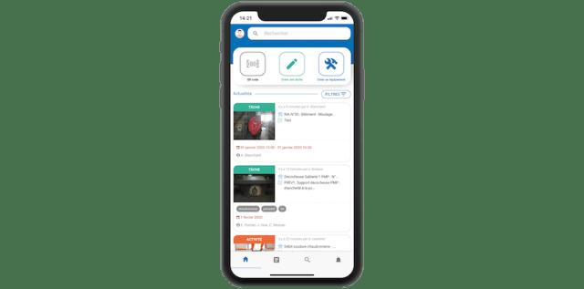 logiciel gmao mobile