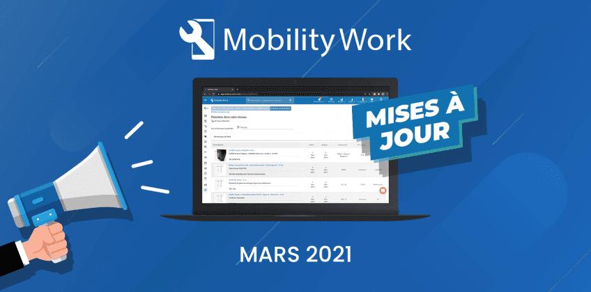 Nouveautés GMAO : une plateforme plus ergonomique | Mars 2021