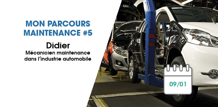 Mon parcours maintenance #5 : l'industrie automobile