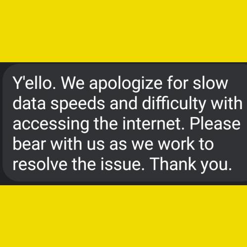 MTN Internet goes to blazes apologizes