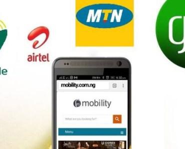 Internet data in Nigeria