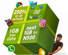 9mobile Heavyweight Awoof Offer - 250% bonus airtime, 1.5GB data, free weekly chat pak