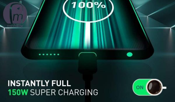 Infinix 150W super charging