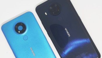 Nokia 3.4 and Nokia 5.4 back