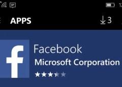 facebook windows 10