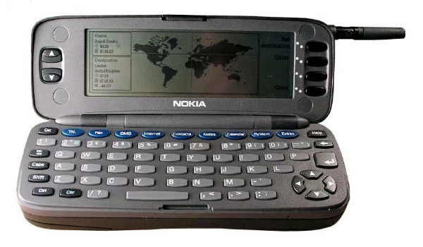 Nokia 9000 communicator was the first mobile phone with Internet access