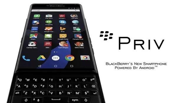 BlackBerry Priv extended