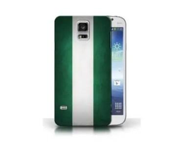 Nigeria flag phone