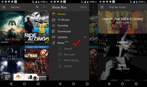 Show Box app for free movie downloads