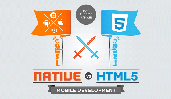 mobile development html5 versus native