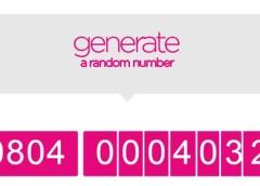 ntel generate random number